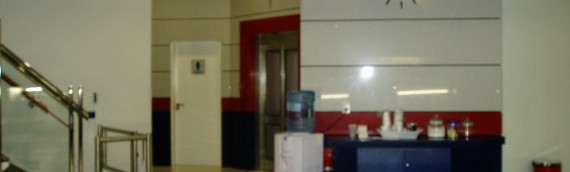 Remodelling of customer area of main office of Setar NV.