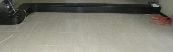 Cover steps with Granite